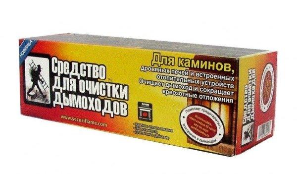 Средство для чистки дымоходов полено отзывы цена сэндвич трубы на дымоход
